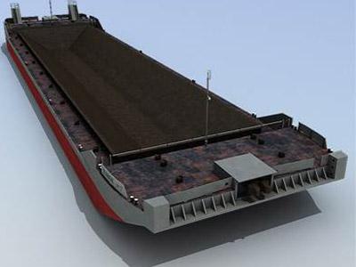 Steamer Barge